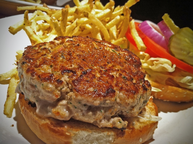 Ahi-Tuna Burger