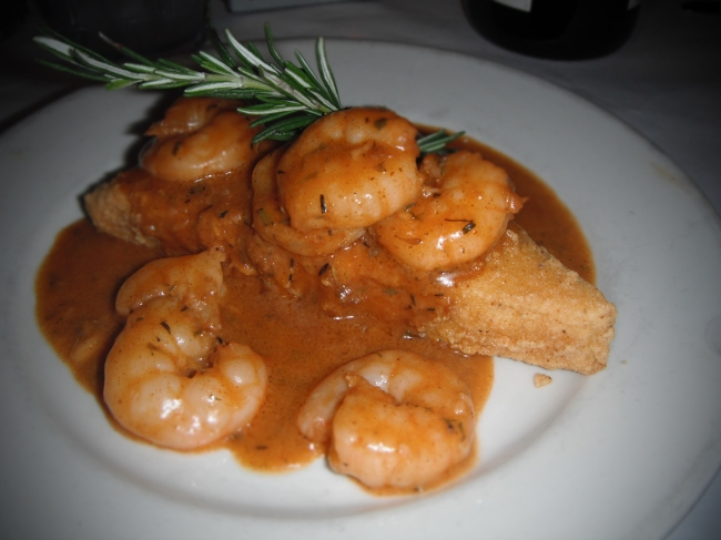 BBQ Shrimp & Grits