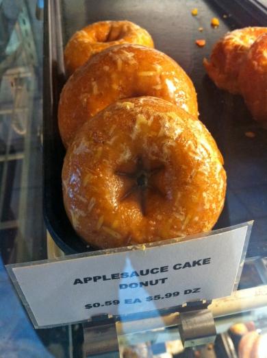 Applesauce Cake Donut