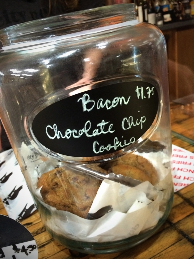 House-Made Bacon Chocolate Chip Cookies