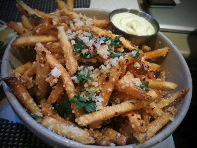 House Cut Parmesan Chili Flake Fries