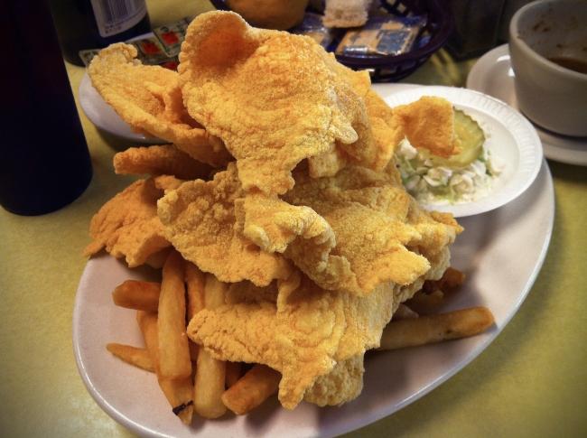 Thin Cut Fried Catfish