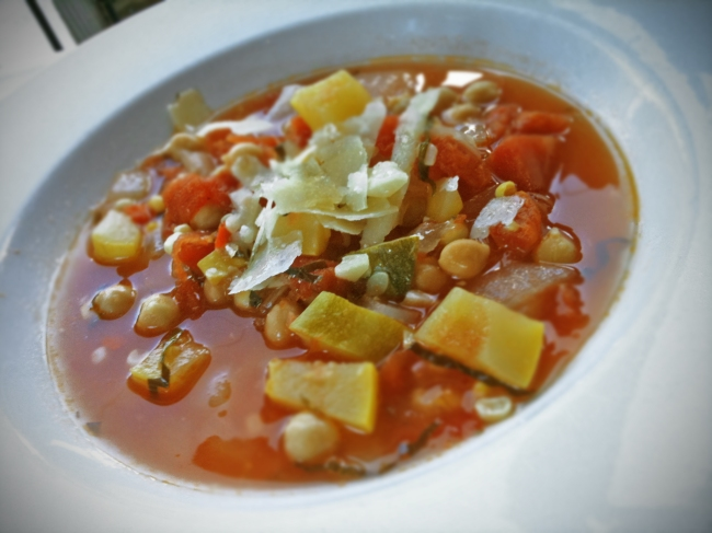 House Made Summer Vegetable Soup