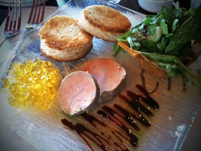 Terrine de Foie Gras de Canard: Duck Foie Gras Terrine, Brioche Toast, Fig Relish, Sauterne Jelly