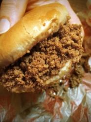 Maid-Rite Original: 1/3 Pound Pure Iowa Beef Loose Meat Sandwich