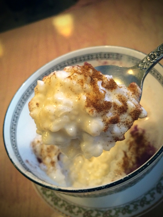 House-Made Rice Pudding