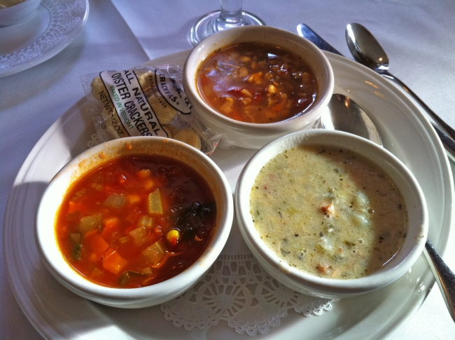"Chowder ""Three Ways"""