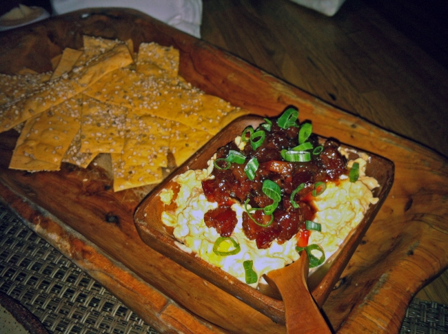 House Made Tennessee Cheddar Pimento Cheese and Bacon Jam