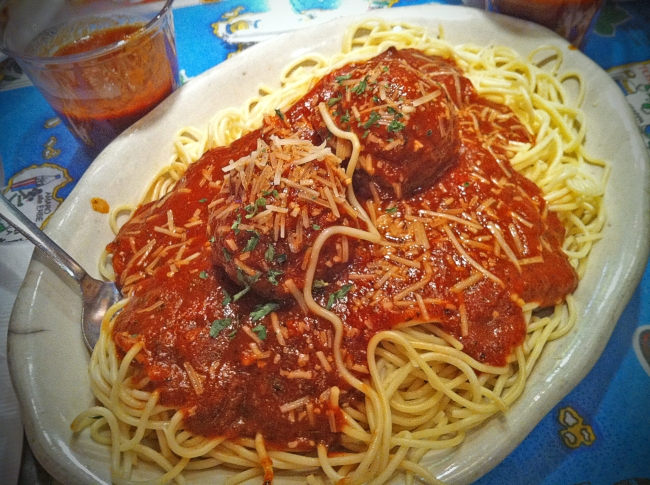 Spaghetti & House Made Meatballs