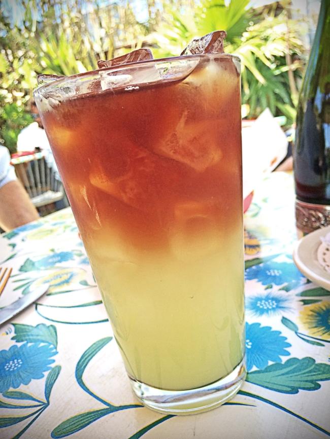 Cucumber Lemonade/Green Tea Arnold Palmer