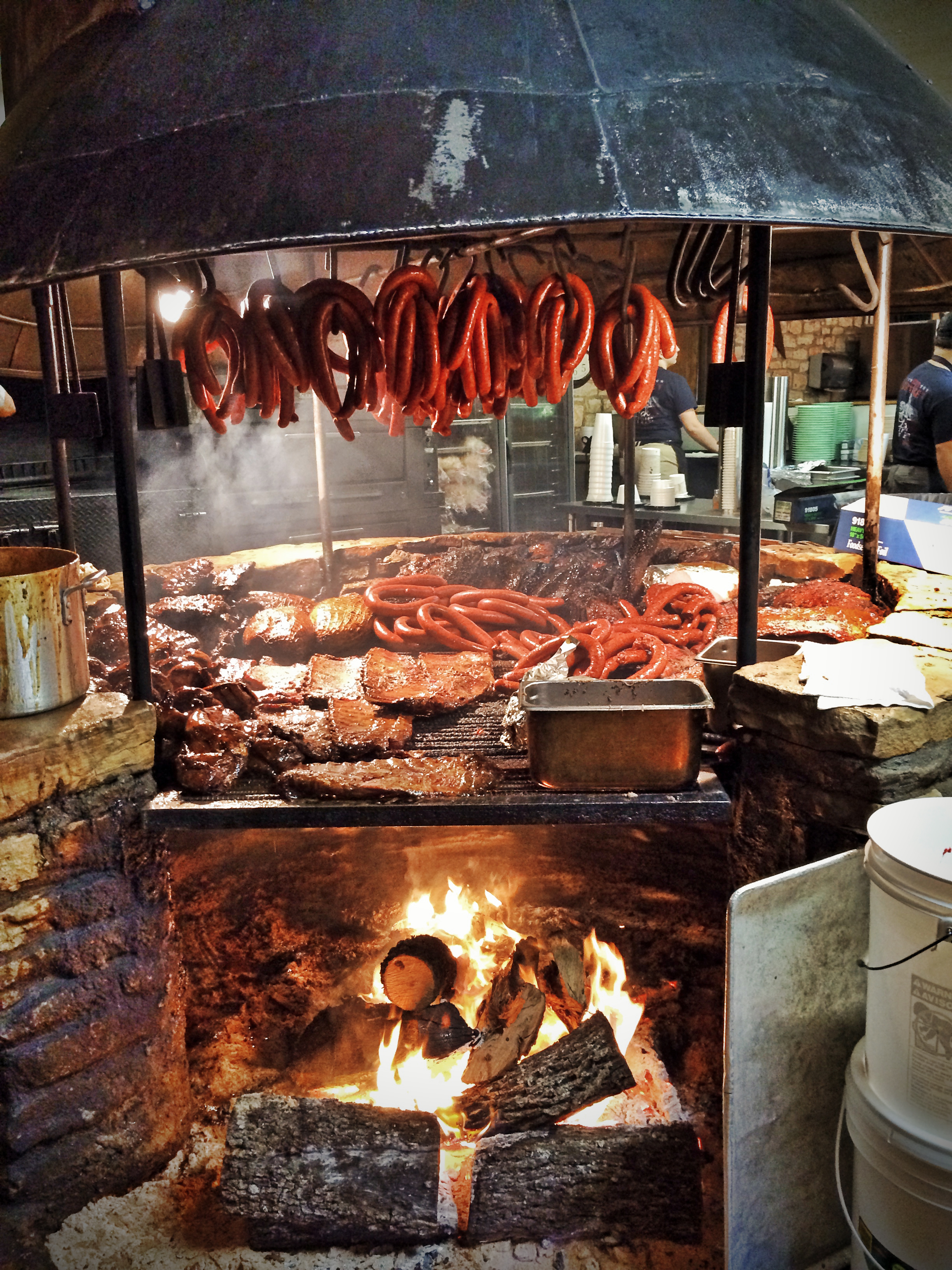 Salt lick barbque
