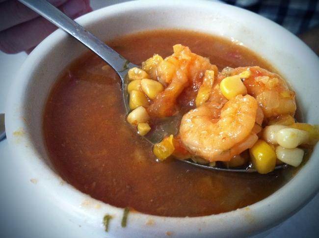 Shrimp - Corn Soup