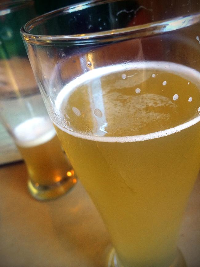 Radler: 50:50 mixture of beer and German-style lemonade