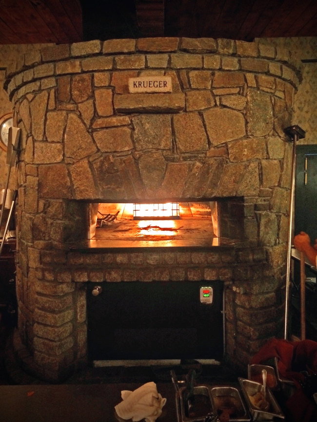 Krueger's Wood Fire Oven