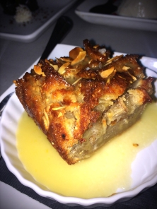 Bread Pudding with Willet Bourbon sauce