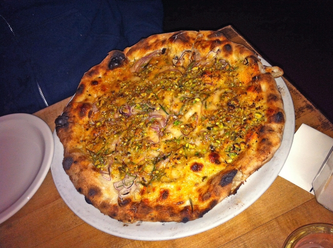 ROSA- Red Onion, Parmesan, Rosemary, AZ Pistachios