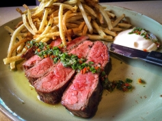 Steak and Pomme Frites