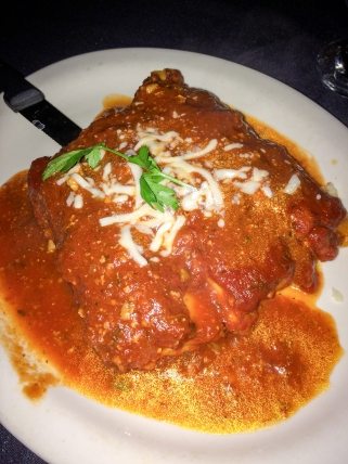 house special that night: Stuffed Cannelloni