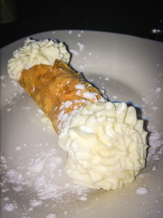 house made Ricotta Stuffed Cannoli