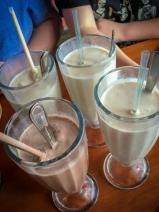 Gelato Milkshakes